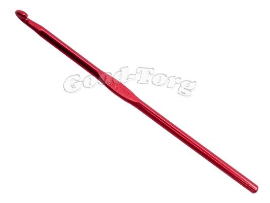 Крючок для вязания алюминиевый 5.0 мм 1 уп. = 5 шт.