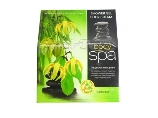 Набор Body Spa, Орхидея ( гель для душа 250 мл., крем для тела 200 мл. )