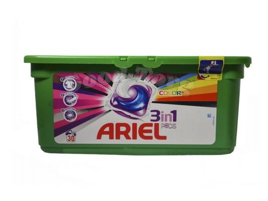 Капсулы для стирки Ariel 3в1 Pods Color 30 шт