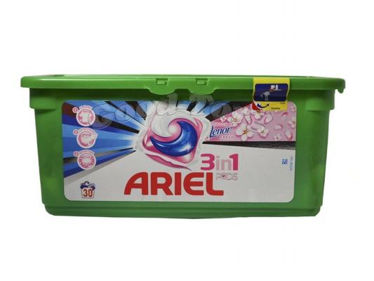 Капсулы для стирки ARIEL 3x Action Touch of Lenor-30 шт