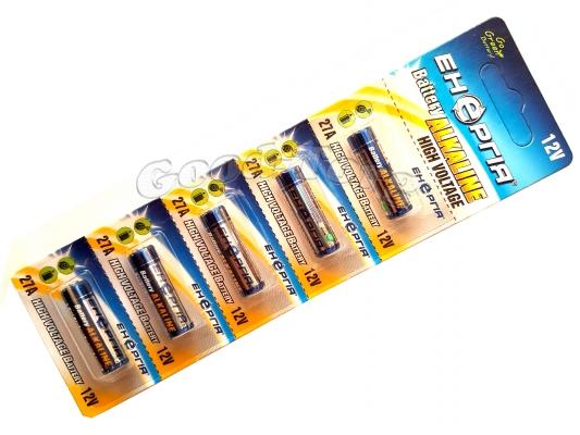Батарейка  Videx  ALKALINE A27, для пульта машины, 5 шт.