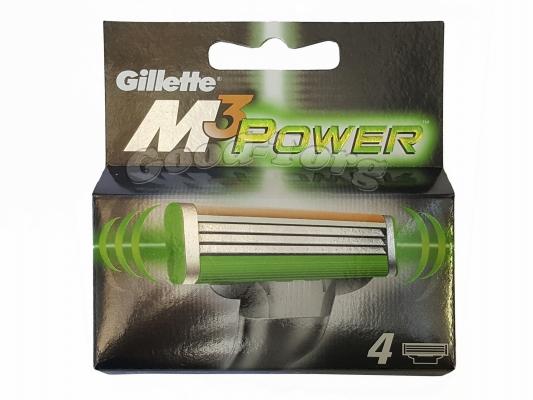 Картриджи Gillette MACH 3 Power оригинал - 4 насадок