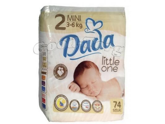 Подгузники Dada N2   3-6 kg.   74 шт.