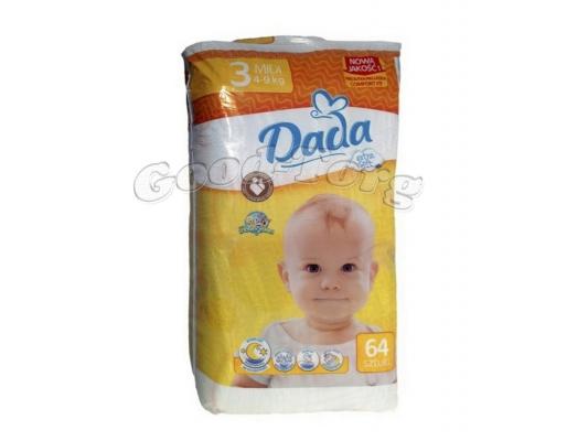 Подгузники Dada N3   4-9 kg.   64 шт.