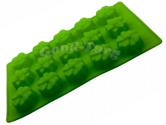 Силиконовая форма для выпечки Цветы 15 Гл. 2.5 см. Дл 29 см. Шир. 17 см. диам. ячеек 7 см.