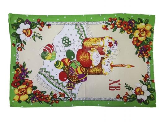 Салфетка кухонная 35 х 65 см, лен Тирасполь  N15