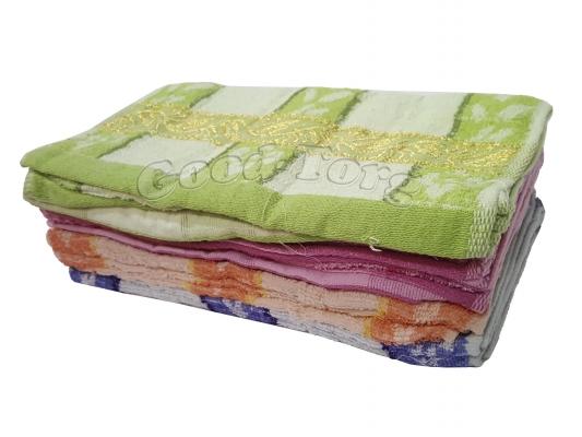 Полотенце для кухни «Золотой узор» 30 х 60 махра, цвета в ассортименте (1 уп. = 10 шт.)