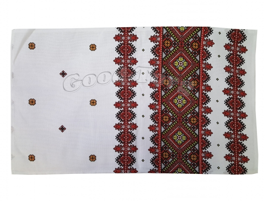Салфетка кухонная 35 х 65 см, лен Тирасполь  N12