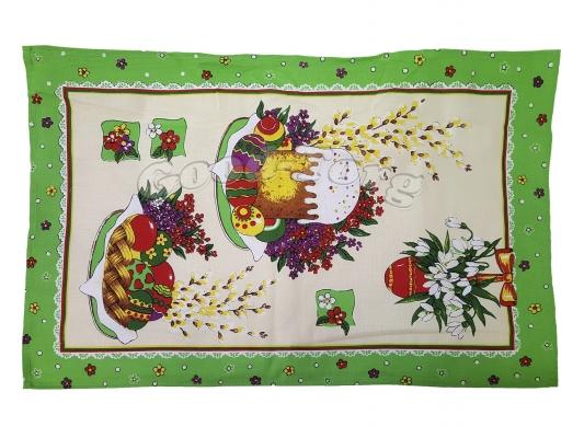 Салфетка кухонная 35 х 65 см, лен Тирасполь  N13