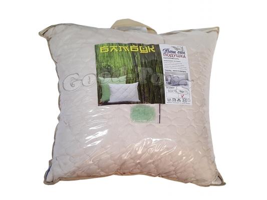 Подушка бамбук размер 70х50 см. арт.2A