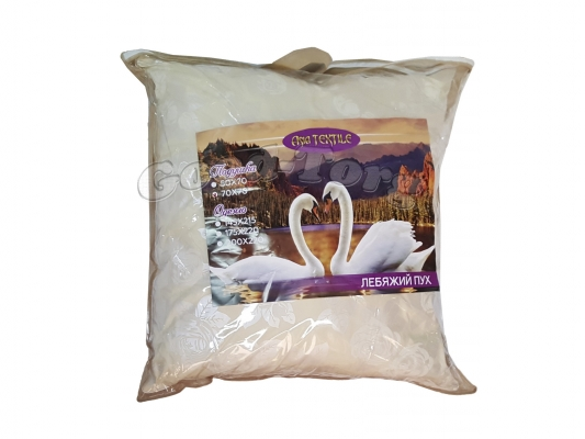 Подушка Лебяжий Пух размер 70х70 см.