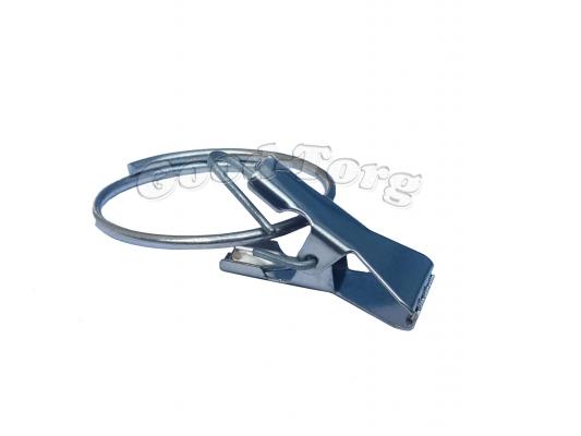 Зажим метал. с кольцом (27 мм) (1 уп. = 100 шт.)