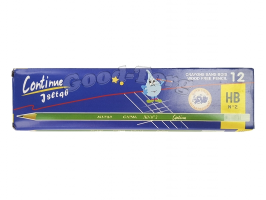 Карандаш простой с ластиком НВ,упаковка 12 штук