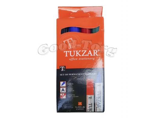Набор маркеров Tukzar 5551-4К, набор 4 цвета