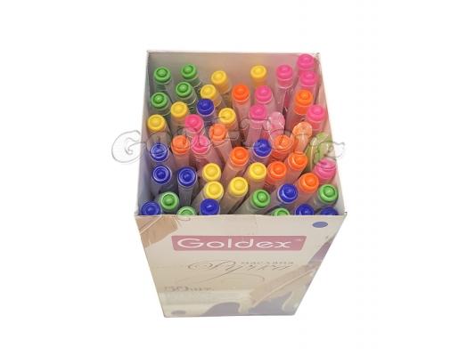 Ручка Goldex карамель,упаковка 50 штук