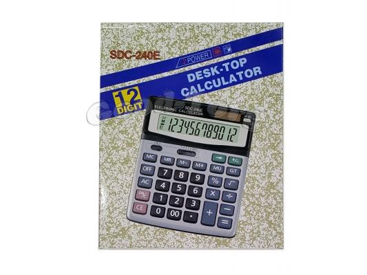 Калькулятор Citizen 240, 12 разрядов,двойное питание