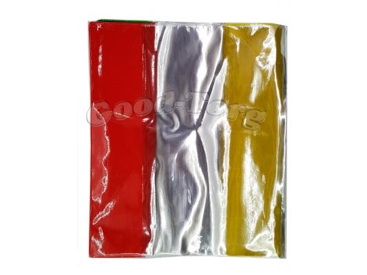 Обложки для тетрадей плотные с цветным краем,упаковка 20 штук