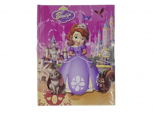Блокнот детский на замочке (А6, 50 листов, картинки для девочек)