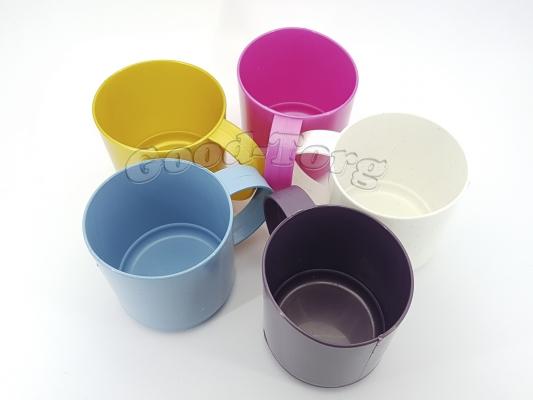 Кружка пластиковая 330 мл. (цвета в ассортименте)