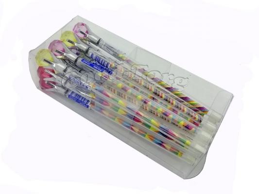Ручка гелевая кристал цвет синий.
