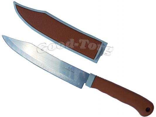 Нож в чехле коричневый 250мм большой