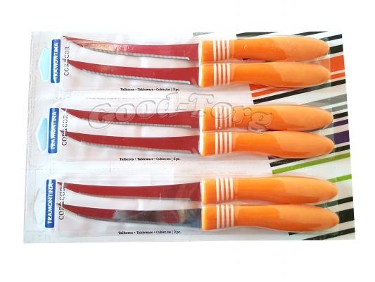 Нож на планшете пилка оранжевая ручка фабричный Китай, 235 мм., 1 уп. = 12 шт. (продажа листом)