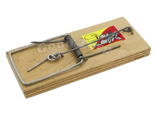 Мышеловка деревянная   1 штучная.