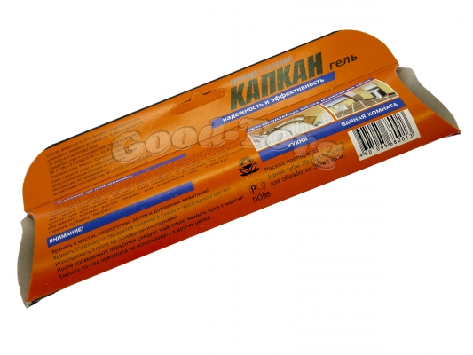 КАПКАН - Гель для уничтожения тараканов, муравьев, 30 гр.,