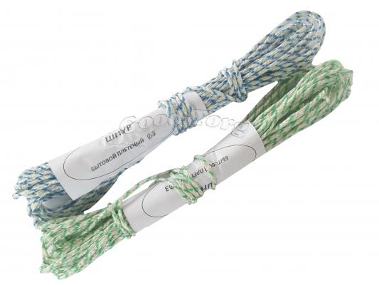 Веревка бельевая, Ф3, 20м., в пачке 10 шт.