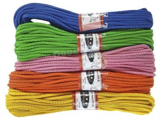 Веревка бельевая в пакете ф4 (15 м.) в пачке 5 шт