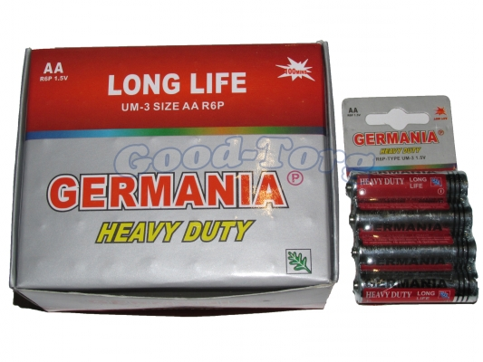 Батарейка Germany, AAA R03, микропалец, 60 шт.