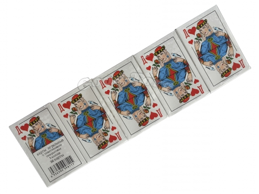 Карты Дама, в упаковке 10 пачек (продажа упаковкой)