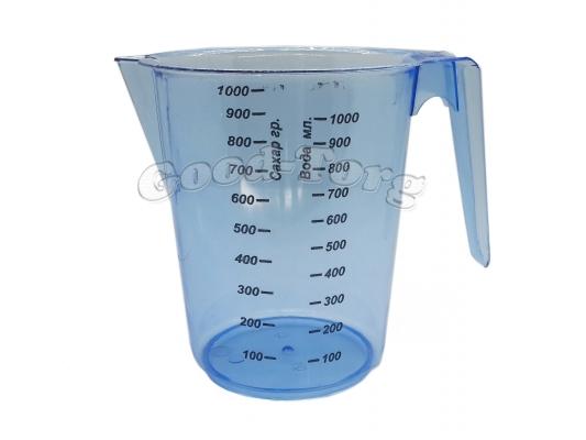 Мерный стакан, 1000 мл.,