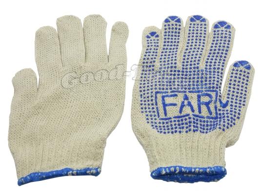 Перчатки ХБ ФАР 12 пар. (продажа упаковкой)