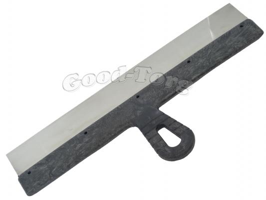 Шпатель  №450, нержавейка, пластиковая ручка, 20.5*45 см.