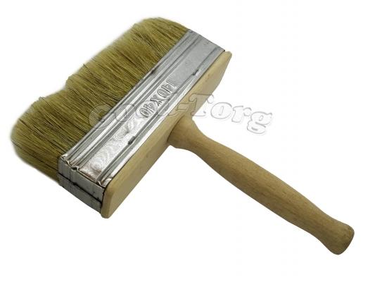 Макловица 40/140 мм, 20,5*14*4 см, натуральная щетина, деревянная ручка