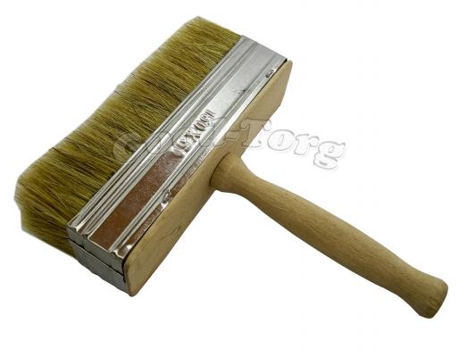 Макловица 50/150 мм, 20,5*15*5 см, натуральная щетина, деревянная ручка