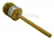 Кисть круглая, №75, 21*6 см, деревянная ручка 1 пач. = 5 шт.