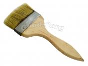 Кисть плоская, утолщенная, №90, 21*8*1.5 см., деревянная ручка 1 пач. = 5 шт.