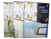 Штора для ванны N5 Eva цветные размер 180×180 см