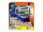 Картриджи Gillette Fusion PROGLIDE POWER, оригинал, 1 уп = 8 шт. (Китай-заводской)