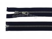 Молния Металл N5, разъемная, черная, никель 65 см. 1 уп. = 10 шт.
