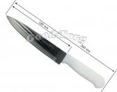 Нож Бык, белая, ручка 6-ка, 260 мм.