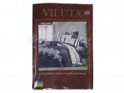 Постельное белье VILUTA N1, полуторный (Пододеяльник 1 шт. 215х145 см. Простыня 1 шт. 220х150 см. Наволочка 2 шт. 70х70 см.)