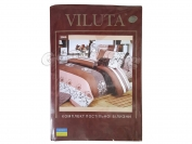 Постельное белье VILUTA N12, полуторный (Пододеяльник 1 шт. 215х145 см. Простыня 1 шт. 220х150 см. Наволочка 2 шт. 70х70 см.)