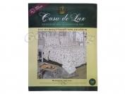 Постельное белье Casa de Lux (зеленая упаковка)  N5, полуторный (Пододеяльник 1 шт. 220х145 см. Простыня 1 шт. 220х145 см. Наволочка 2 шт. 70х70 см.)