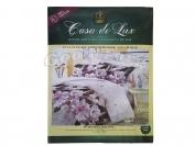 Постельное белье Casa de Lux (зеленая упаковка) N6, евро (Пододеяльник 1 шт. 220х200 см. Простыня 1 шт. 220х200 см. Наволочка 2 шт. 70х70 см.)