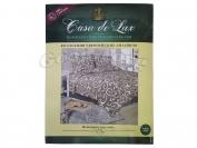 Постельное белье Casa de Lux (зеленая упаковка) N8, евро (Пододеяльник 1 шт. 220х200 см. Простыня 1 шт. 220х200 см. Наволочка 2 шт. 70х70 см.)