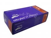 Перчатка нитрил размер L - синий цвет 1 уп. = 50 пар