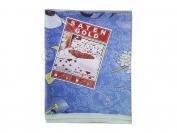Постельное белье арт.4 Сатин Голд двойка (Пододеяльник 1 шт. 215х175 см. Простыня 1 шт. 215х175 см. Наволочка 2 шт. 70х70 см.)